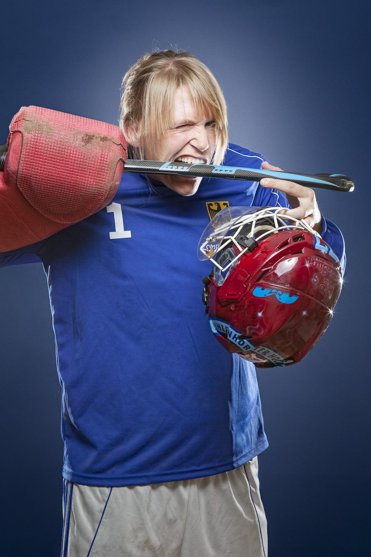 Sportrait – Real Sportsman – Hockey Torwärtin