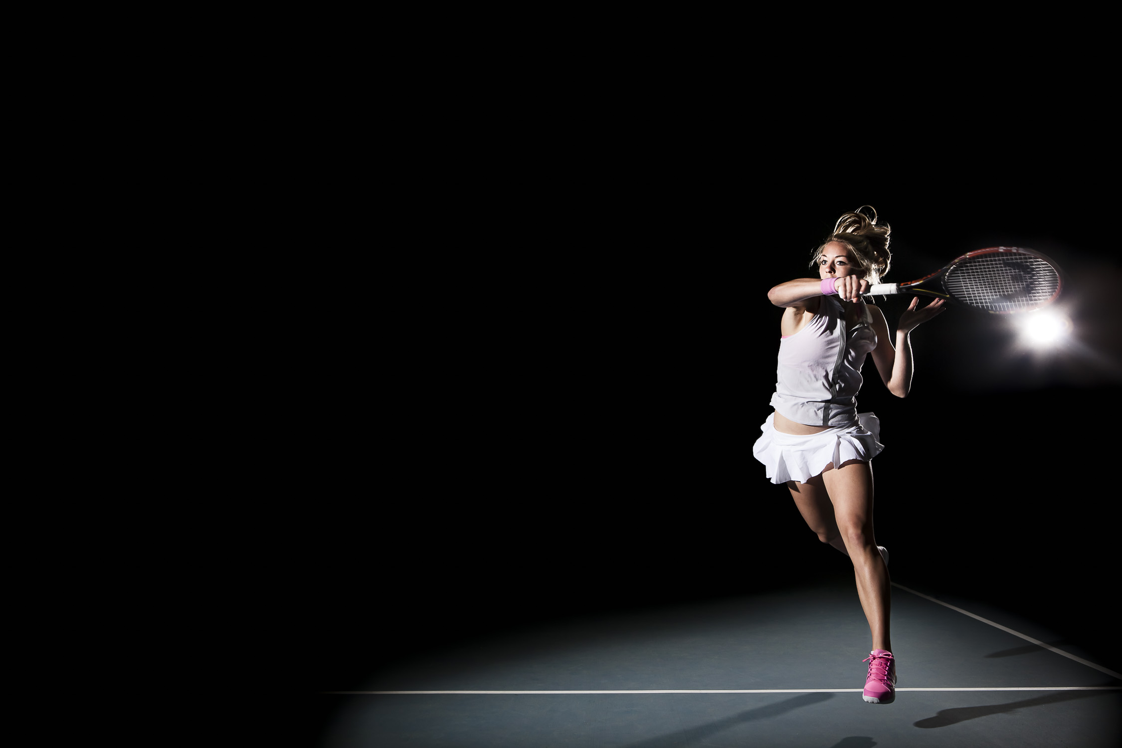 Sportrait – Tennisspielerin