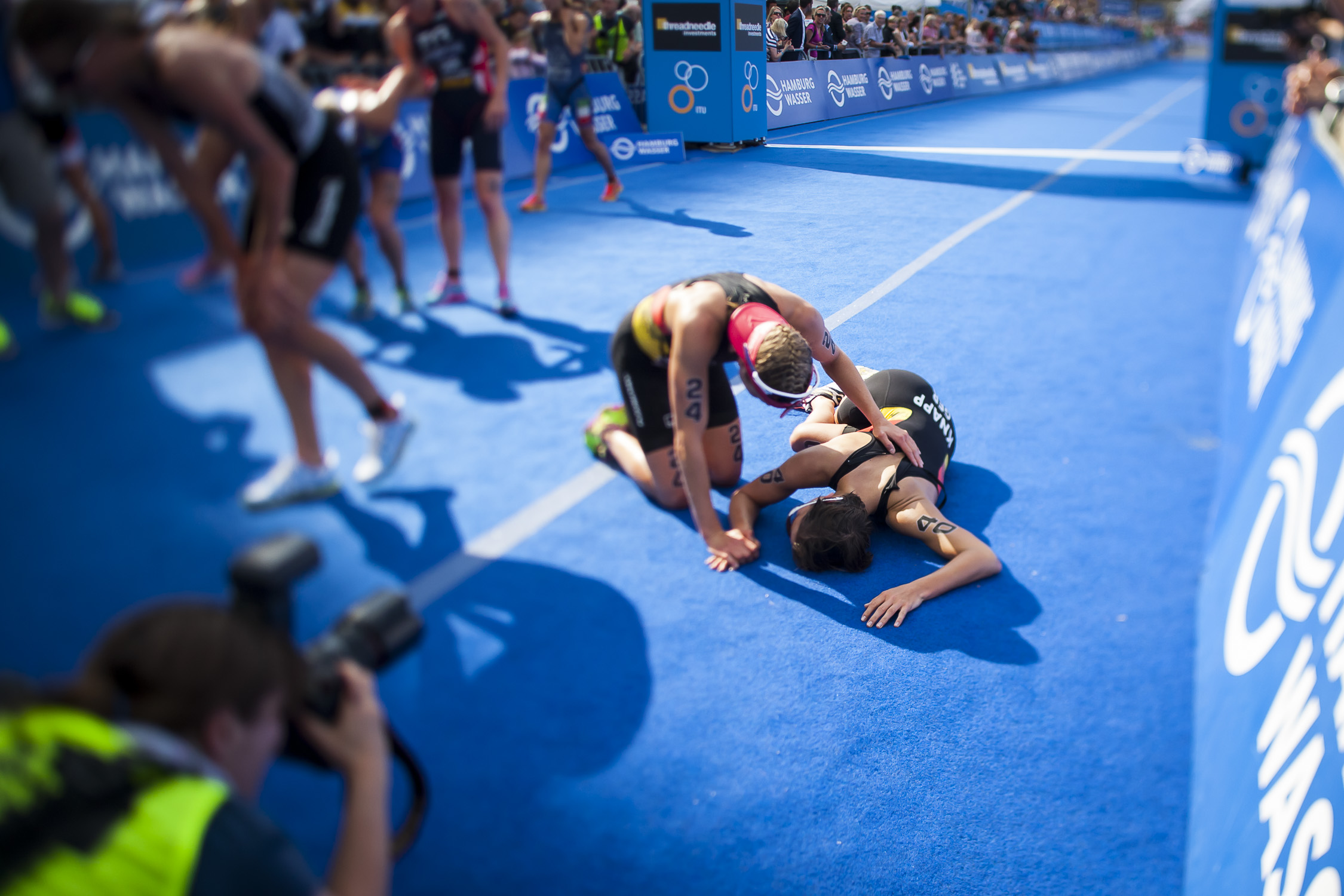 ITU World Triathlon Series Hamburg 2014