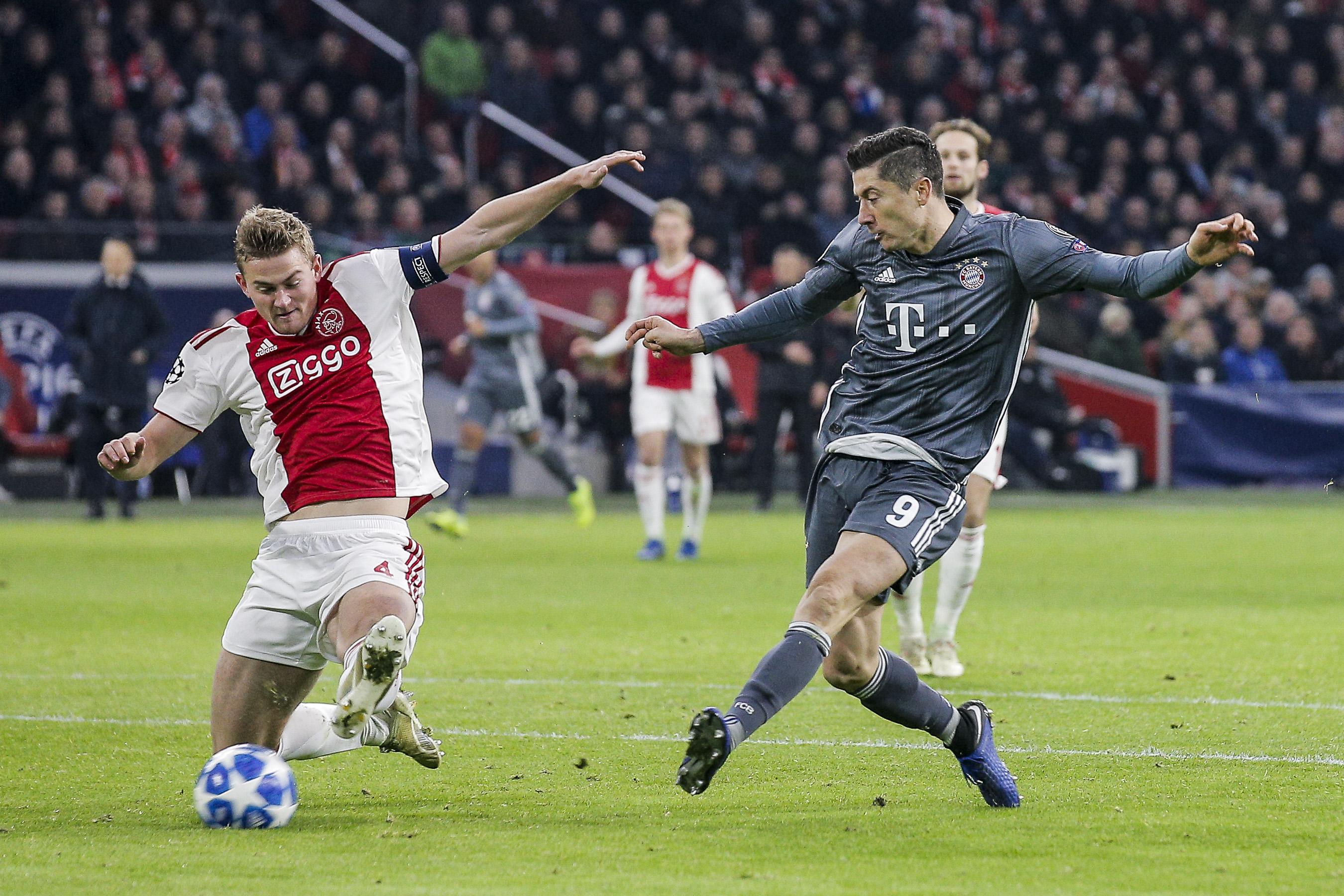 Portfolio(20181212 – CL Ajax Amsterdam – Bayern München – 1600)